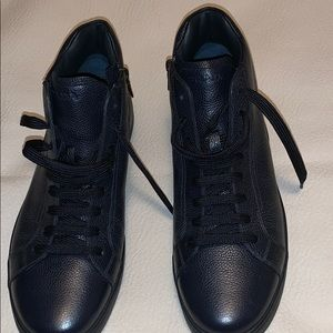 Prada sport leather high- top sneakers